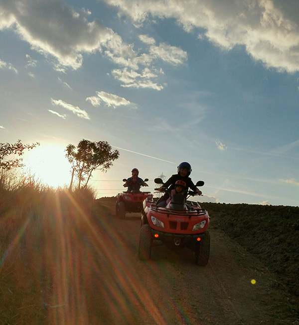 Escursioni in quad all'Agriturismo Il Capannone a Saturnia