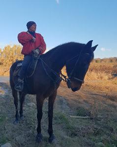 Fabrizio Mugnaioli guida equestre maneggio Saturnia
